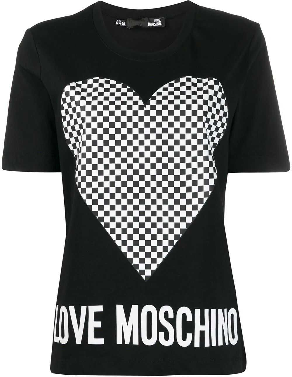 LOVE Moschino Cotton T-Shirt BLACK