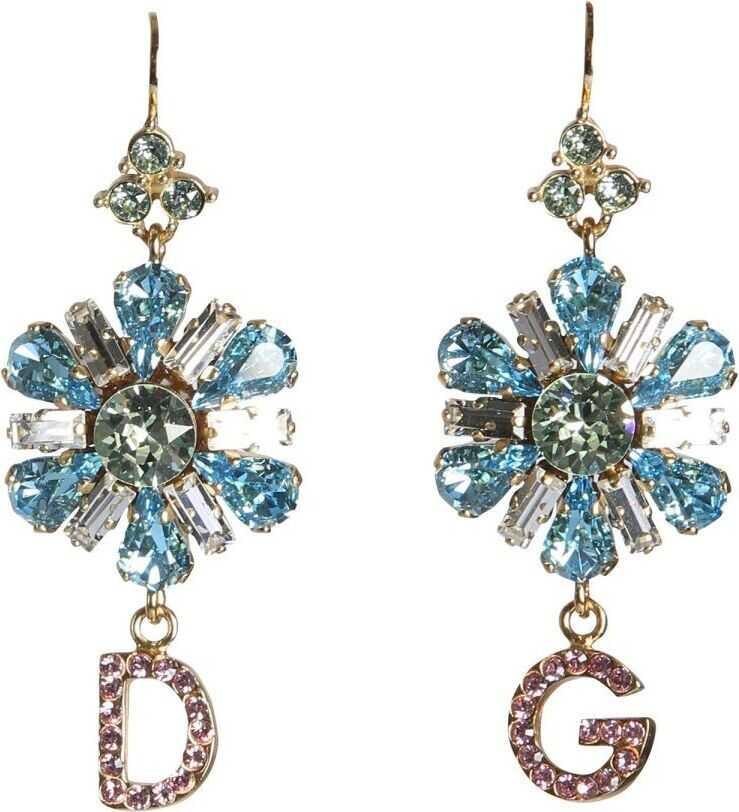 Dolce & Gabbana Metal Earrings LIGHT BLUE