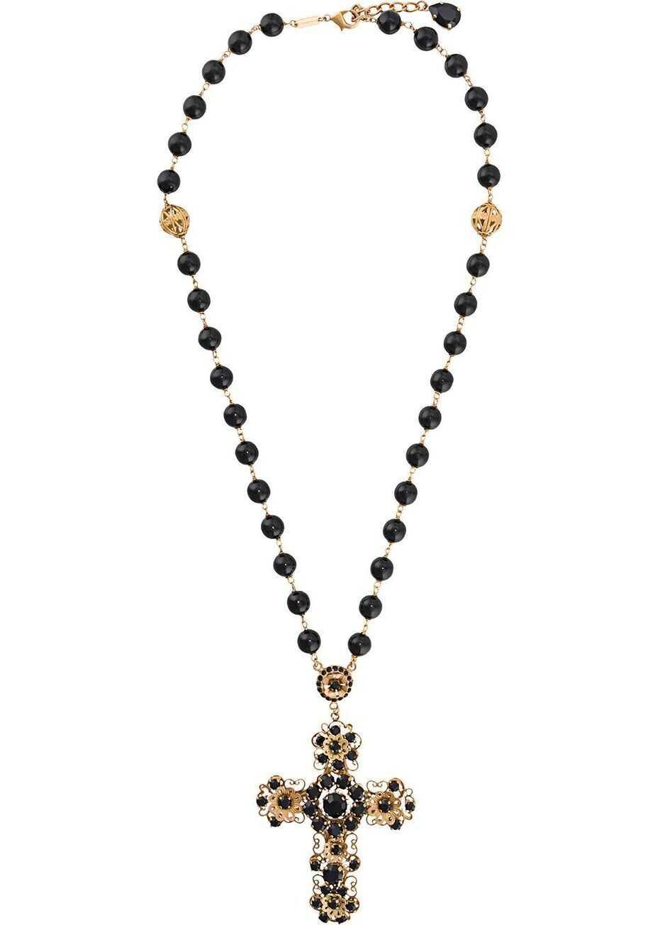 Dolce & Gabbana Metal Necklace BLACK