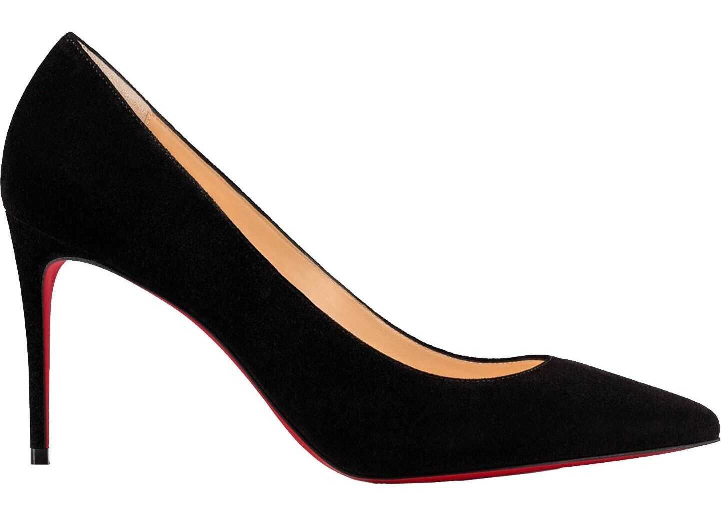 Christian Louboutin Leather Pumps BLACK
