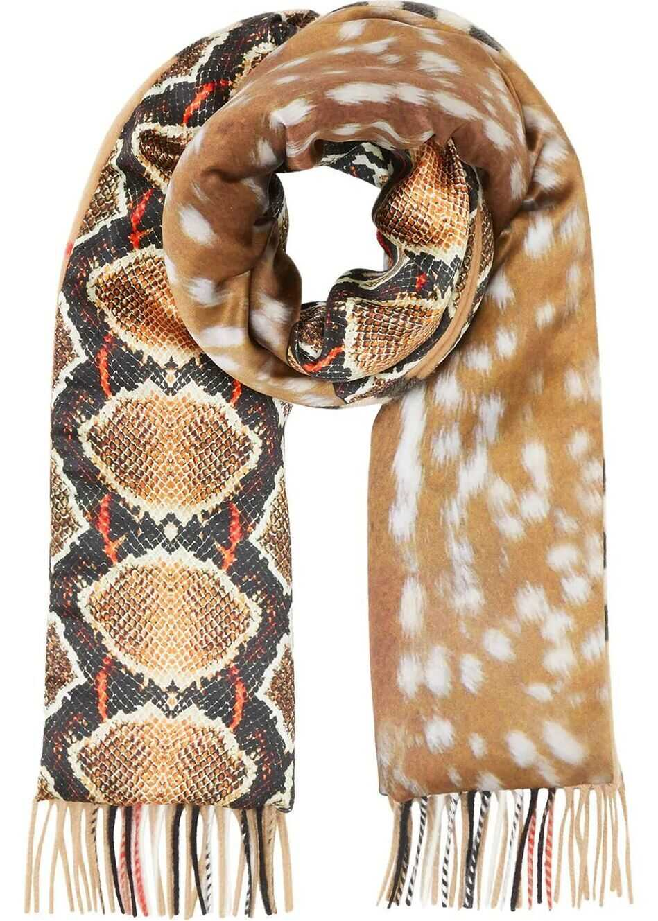 Burberry Cashmere Scarf BROWN