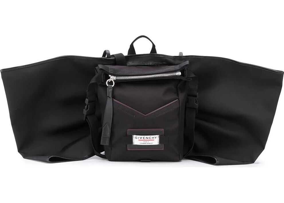 Givenchy Synthetic Fibers Backpack BLACK