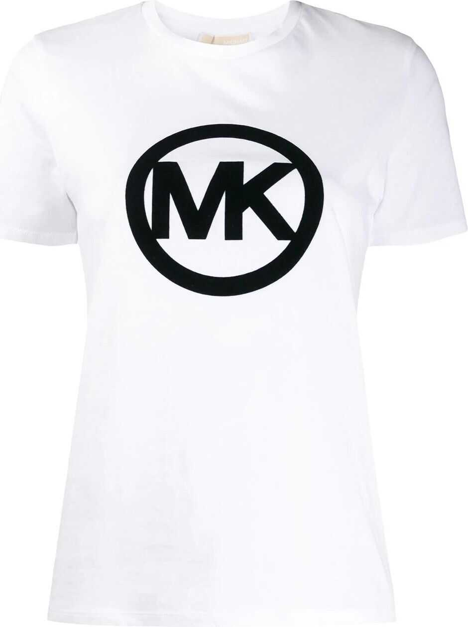 Michael Kors Cotton T-Shirt WHITE