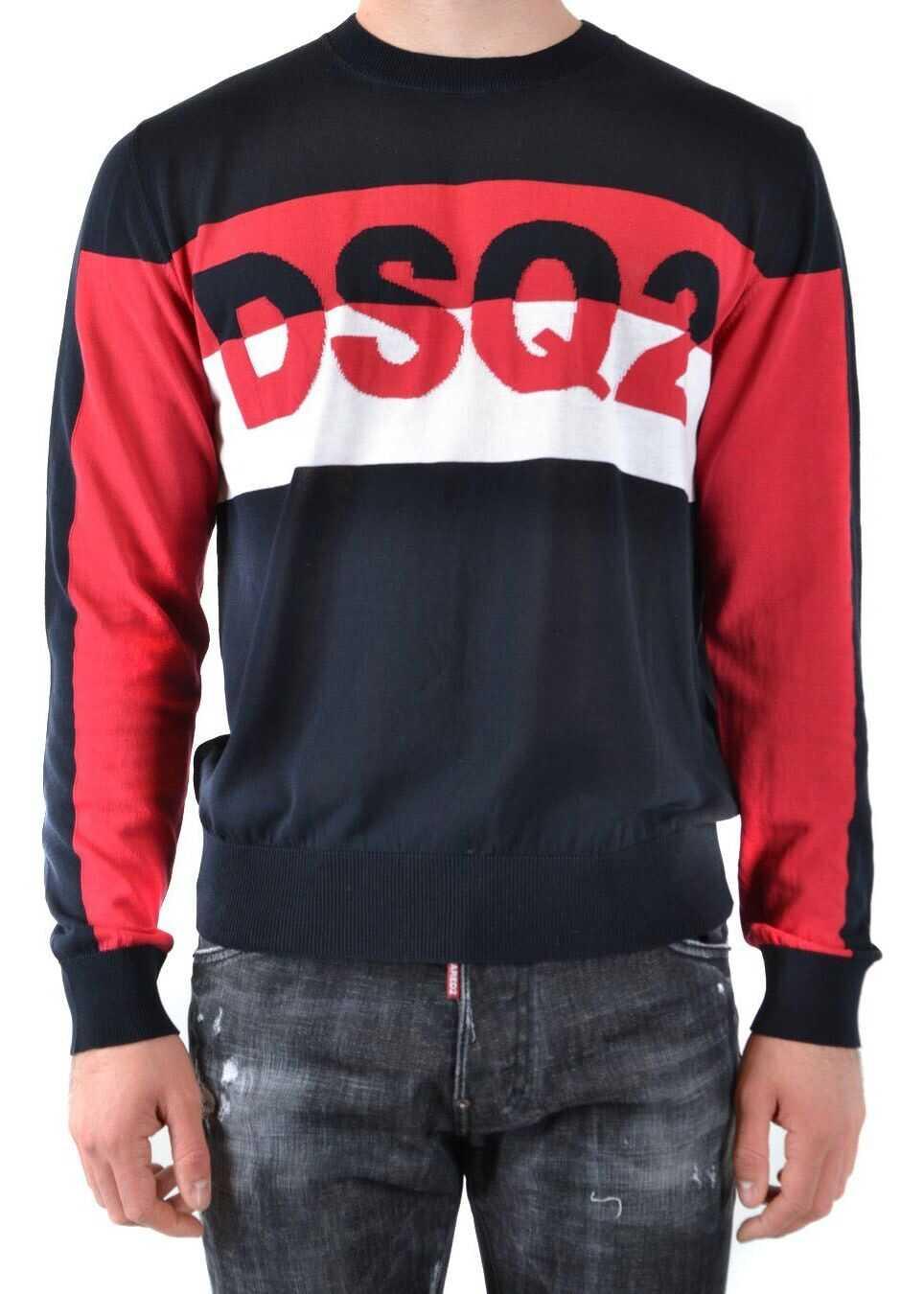 DSQUARED2 Cotton Sweater BLACK