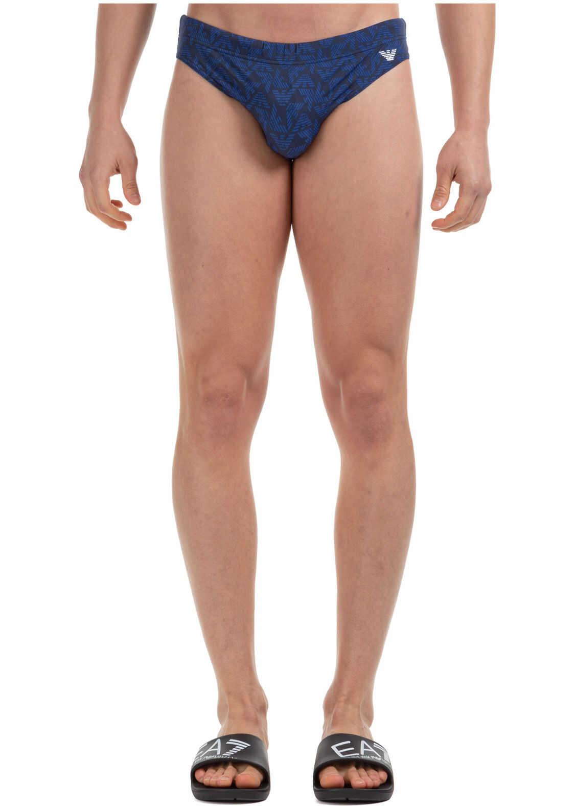 Emporio Armani Swimming Suit Blue