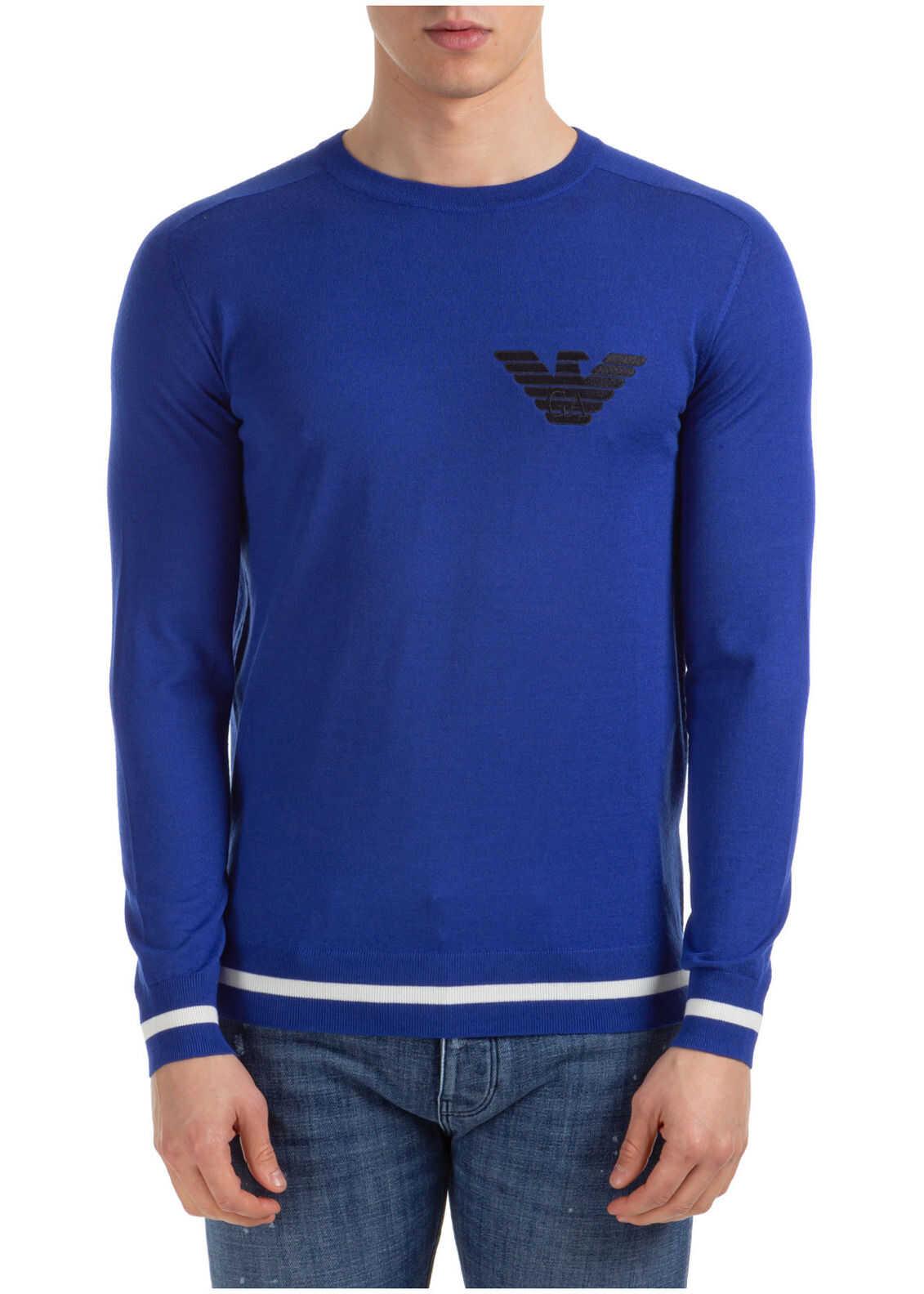 Emporio Armani Sweater Pullover Blue