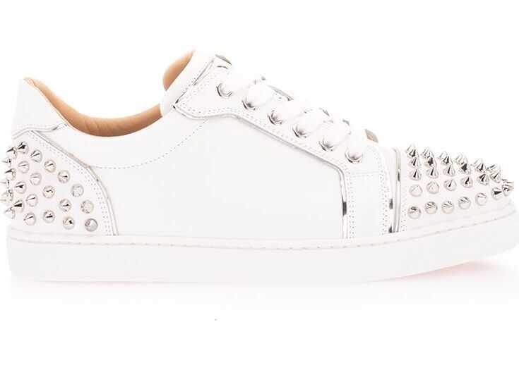 Christian Louboutin Leather Sneakers WHITE