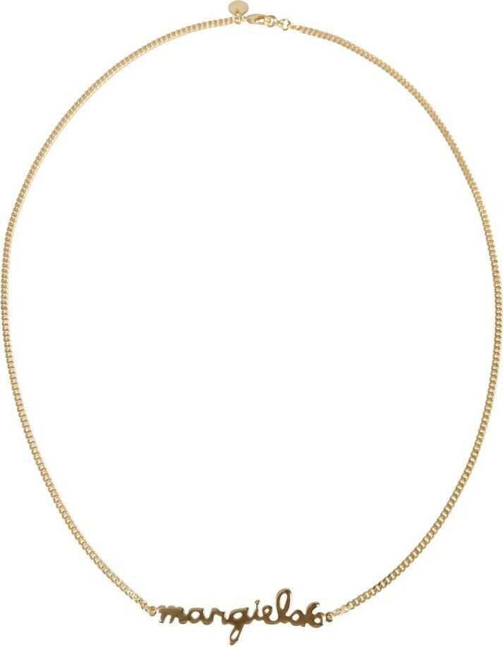 Maison Margiela Metal Necklace GOLD