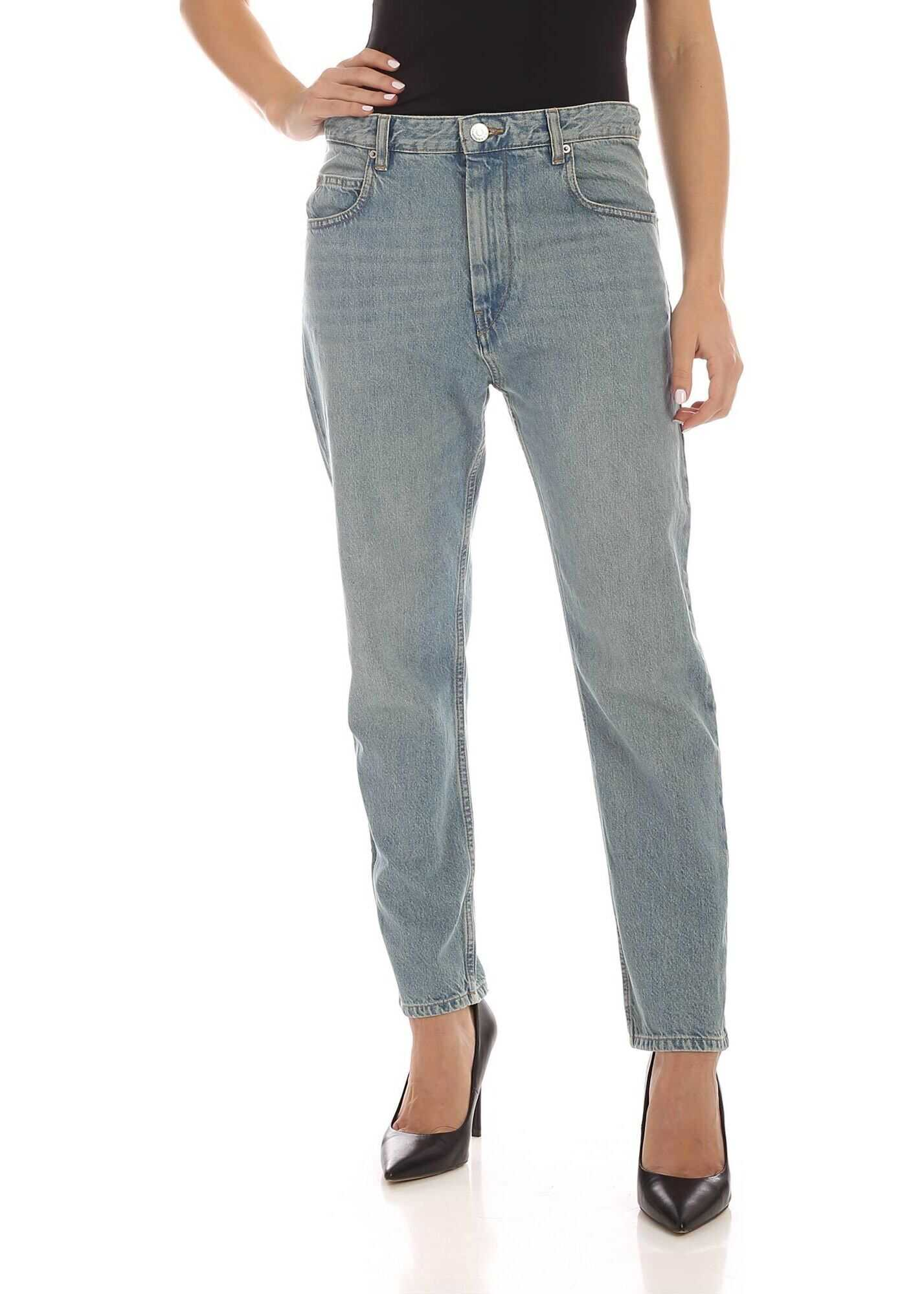 Neaj Jeans In Light Blue thumbnail