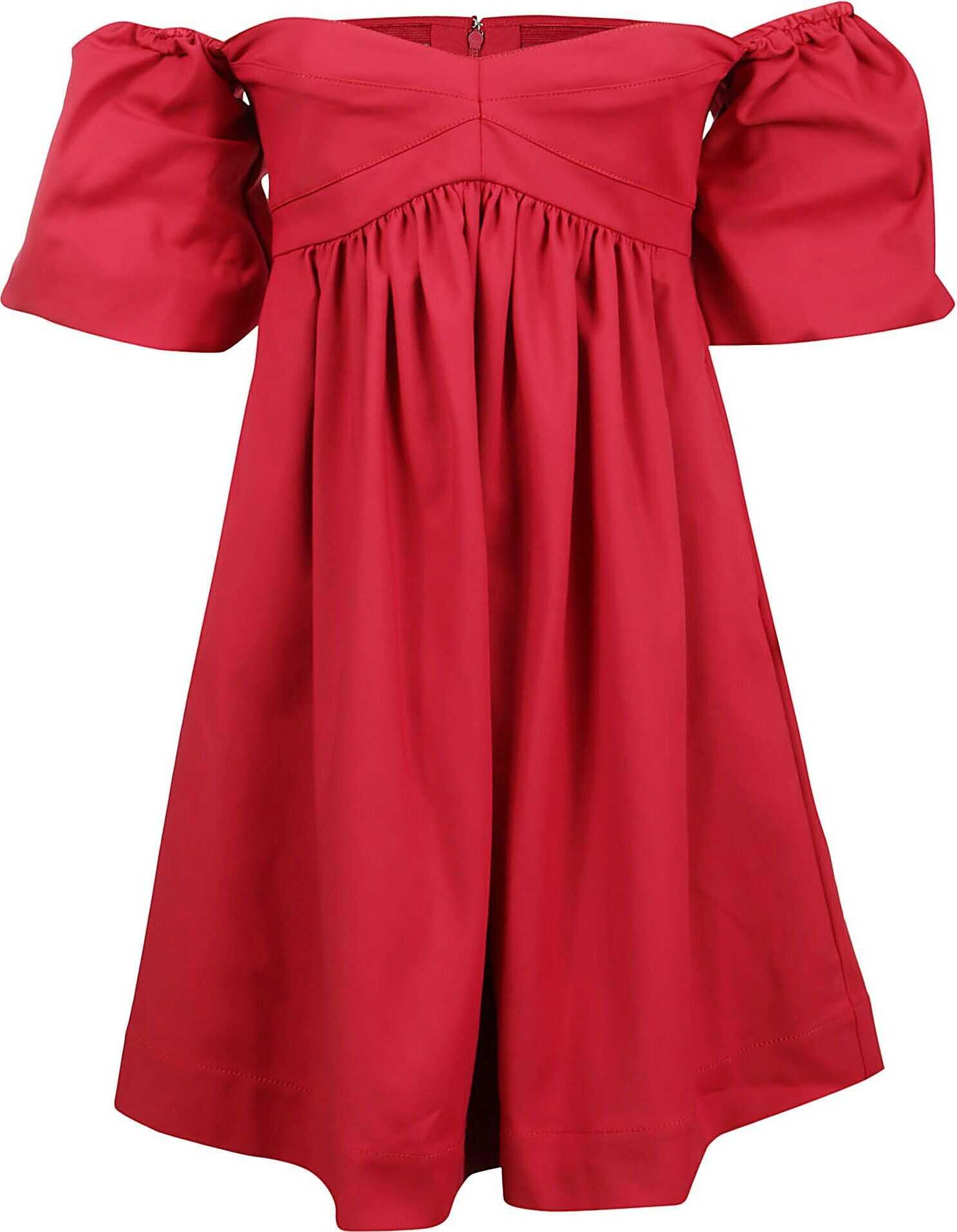 Pinko Cotton Dress RED