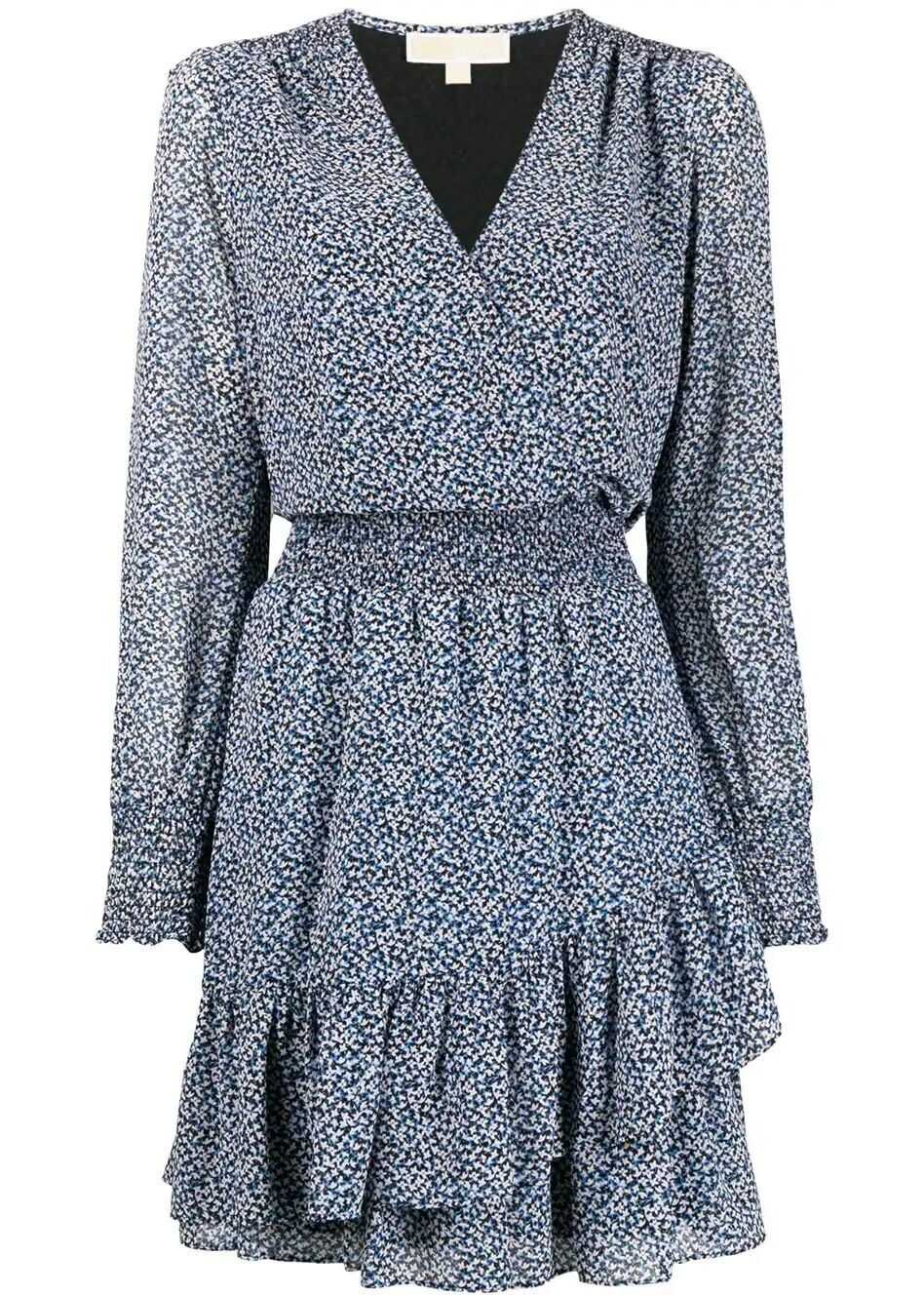 Michael Kors Synthetic Fibers Dress BLUE