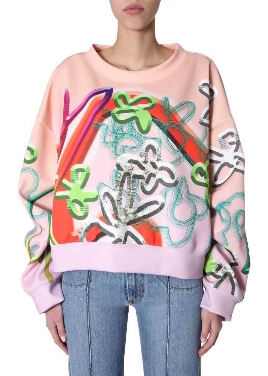 Maison Margiela Polyester Sweatshirt PINK