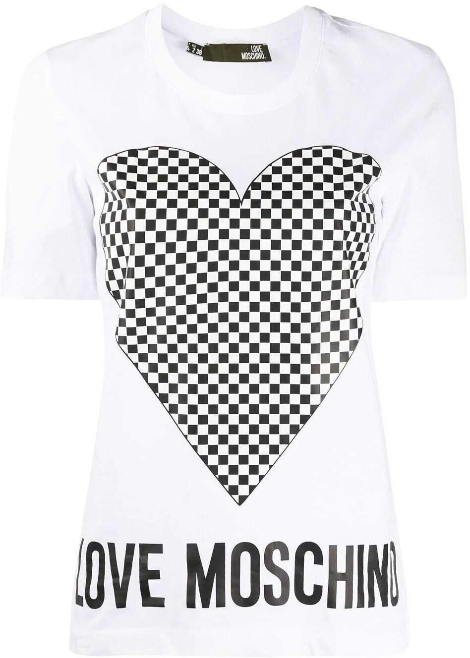 LOVE Moschino Cotton T-Shirt WHITE