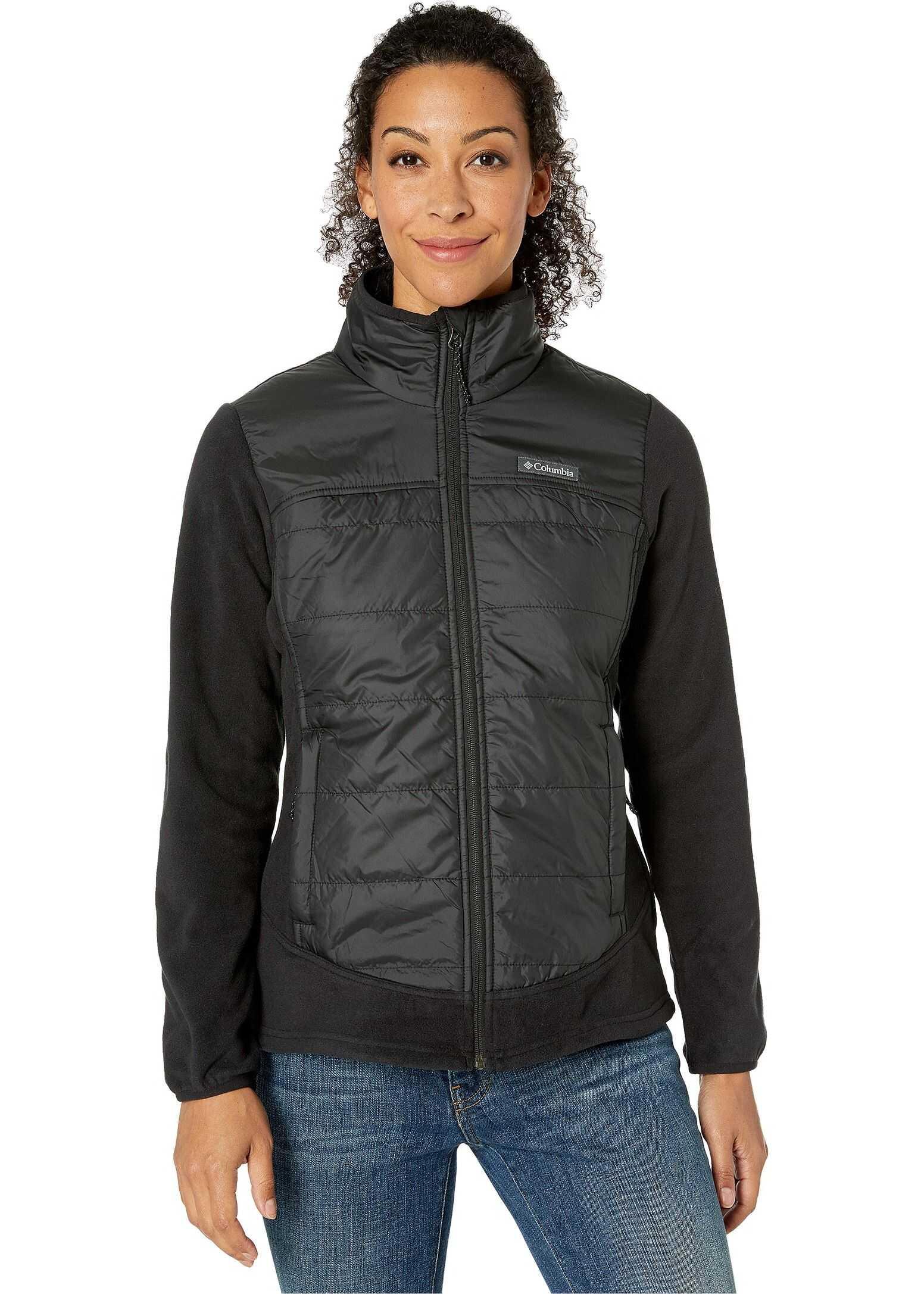 Columbia Basin Butte™ Fleece Full Zip Black