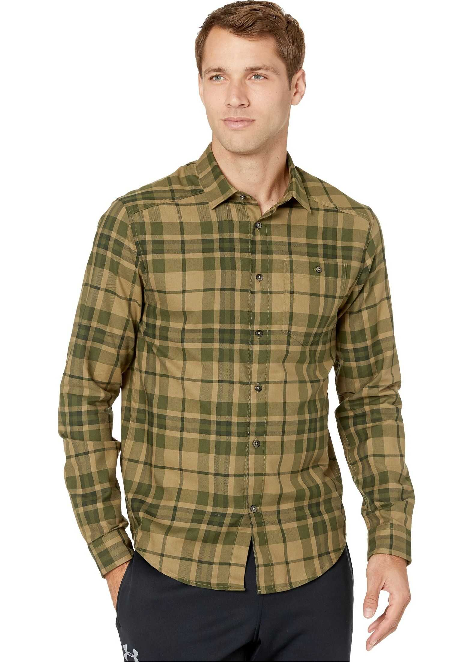 Under Armour Tradesman Flannel 2.0 Outpost Green/Guardian Green