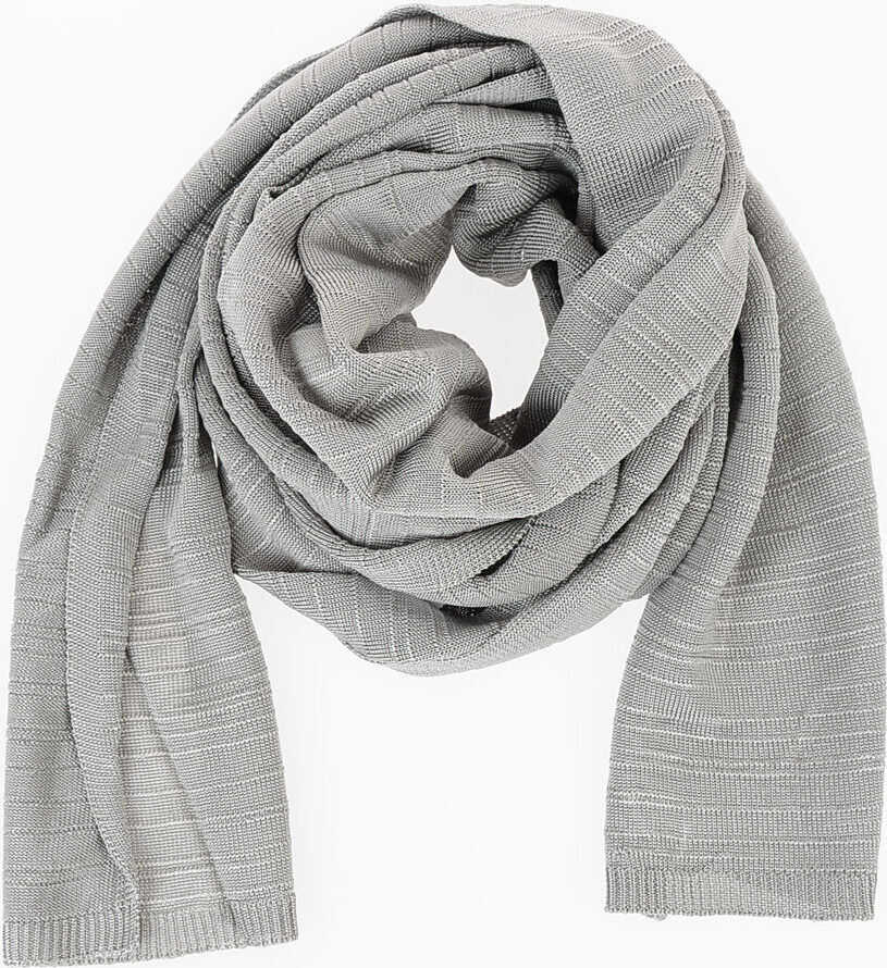 Maison Margiela MM14 Fabric Scarf GRAY