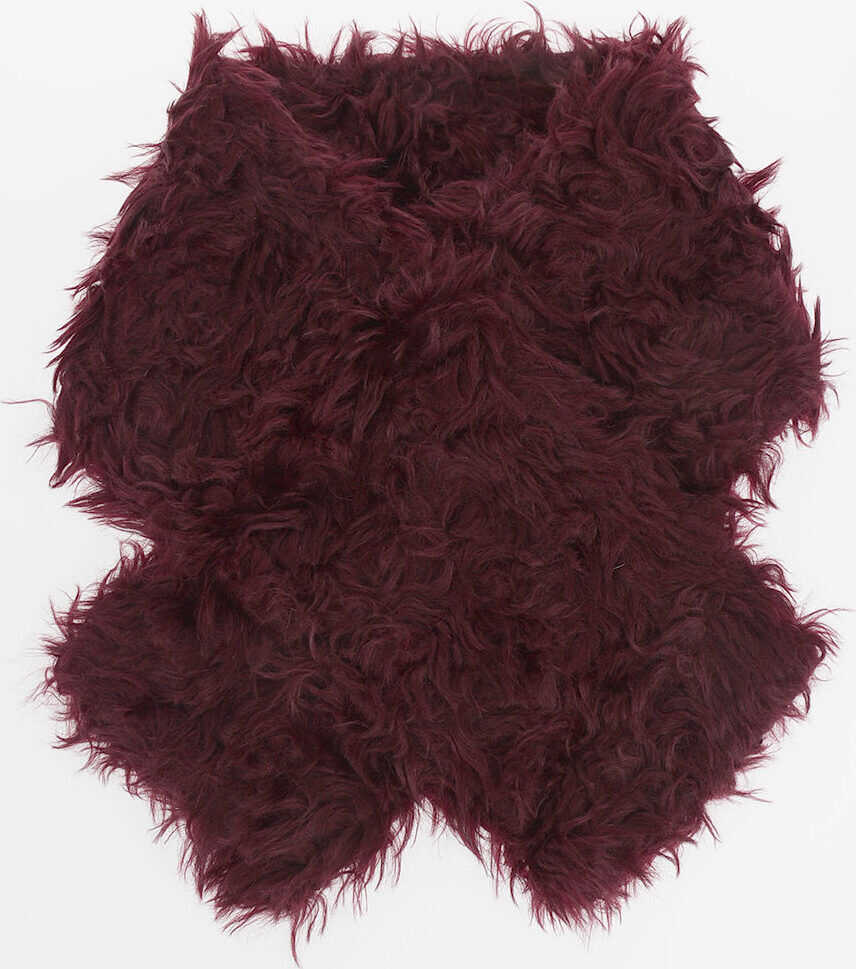 Maison Margiela MM4 Mohair Scarf RED