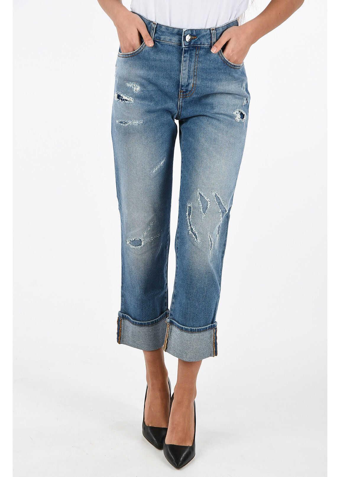 Just Cavalli Stretch Denim Boy Fit Jeans BLUE