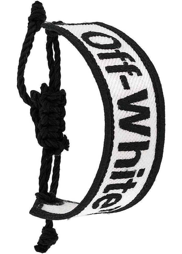 Off-White Polyester Bracelet WHITE
