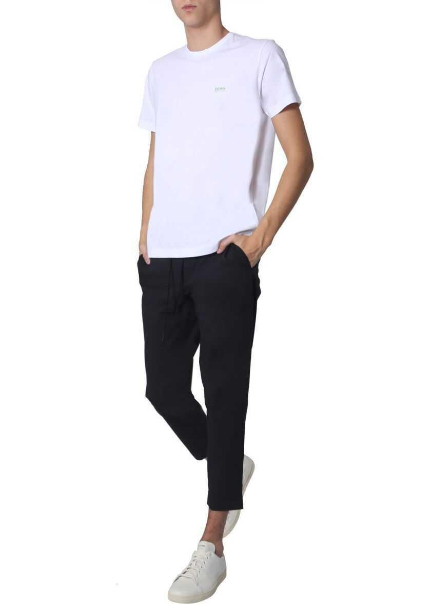 BOSS Hugo Boss Cotton T-Shirt WHITE