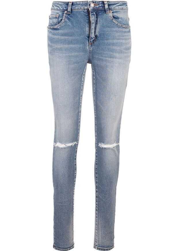 Saint Laurent Cotton Jeans LIGHT BLUE