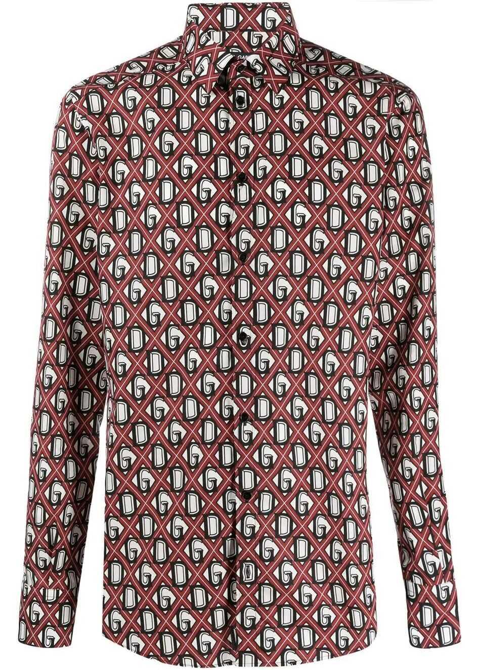 Dolce & Gabbana Cotton Shirt BURGUNDY