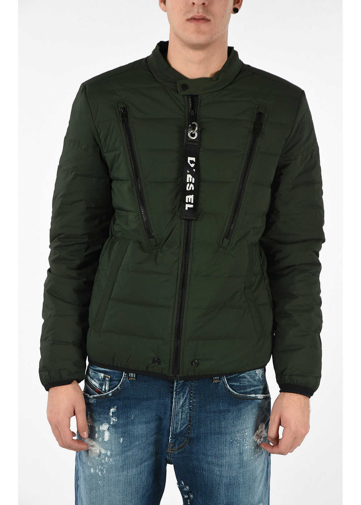 Diesel W-HANKS Down Jacket GREEN