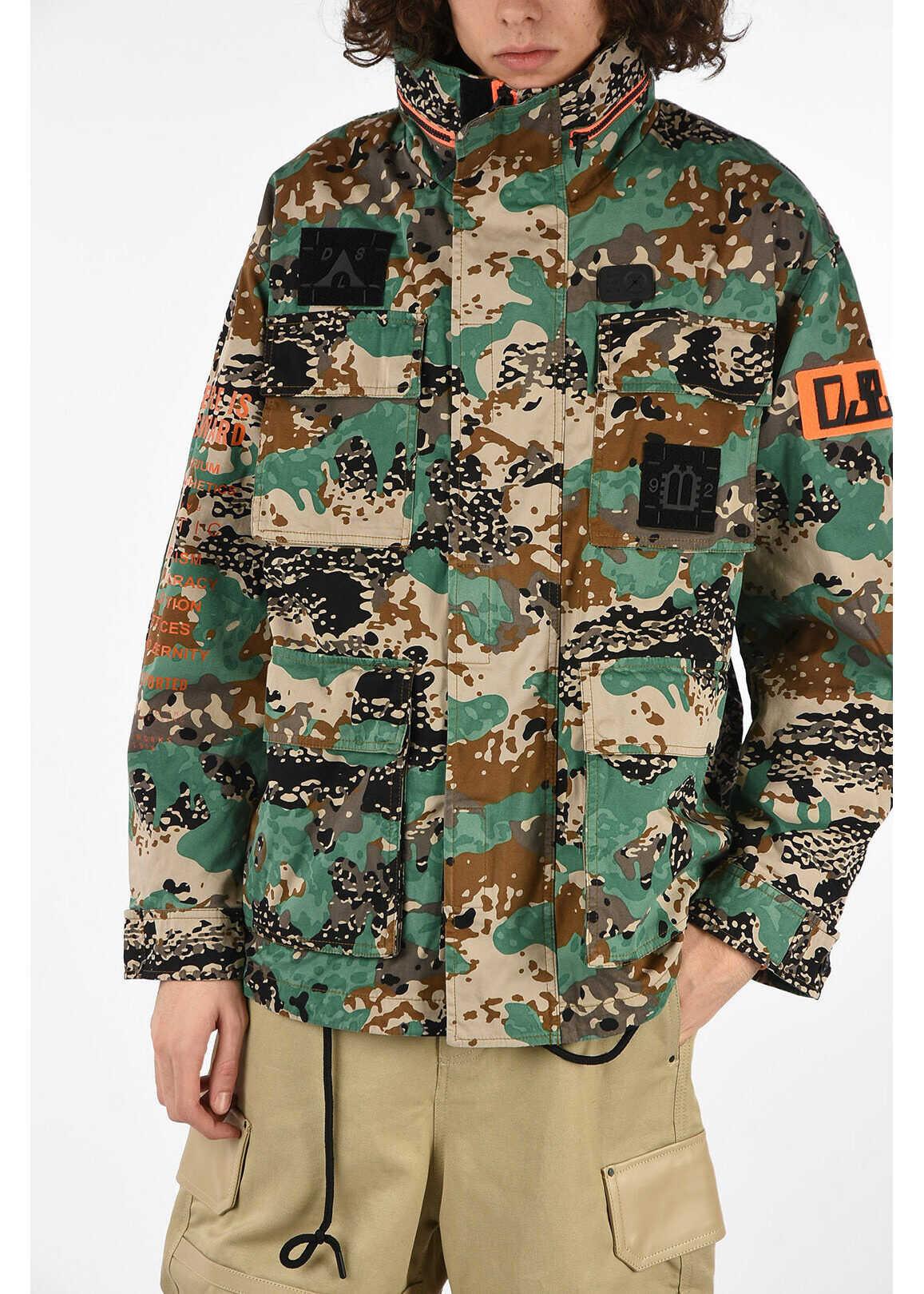 Diesel Camouflage J-TOUCHA Jacket N/A