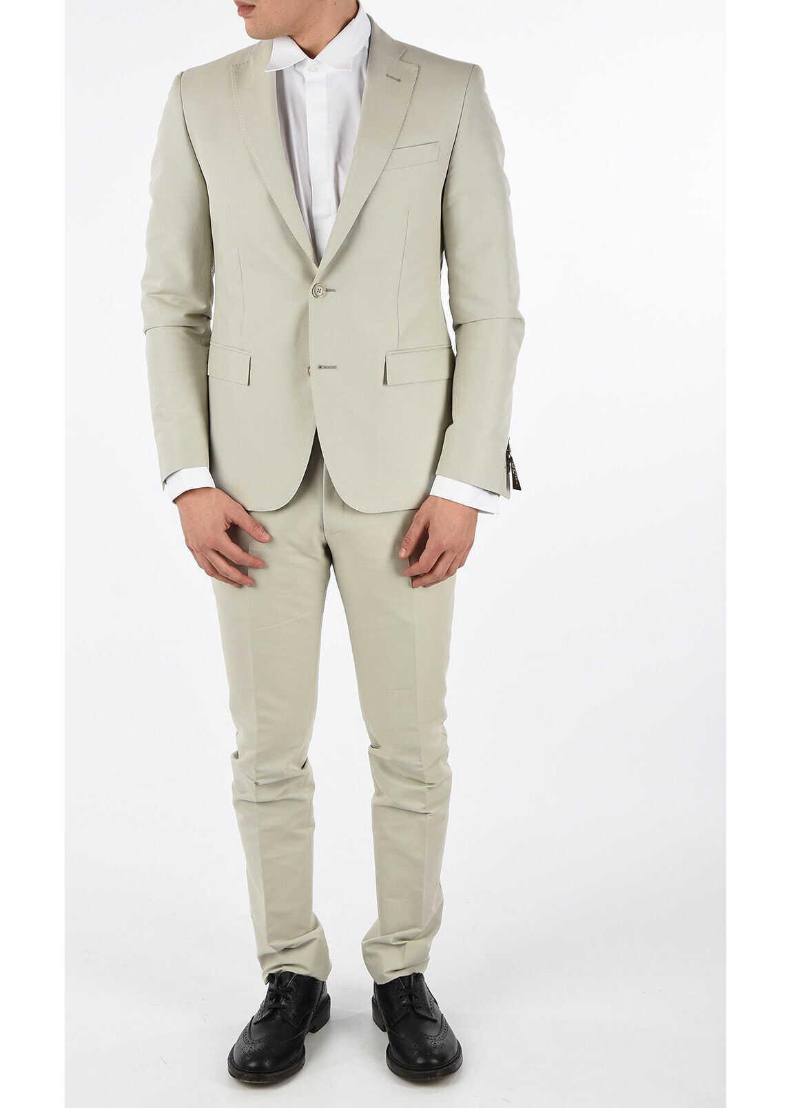 CORNELIANI CC COLLECTION 2 Button RESET Suit BEIGE imagine
