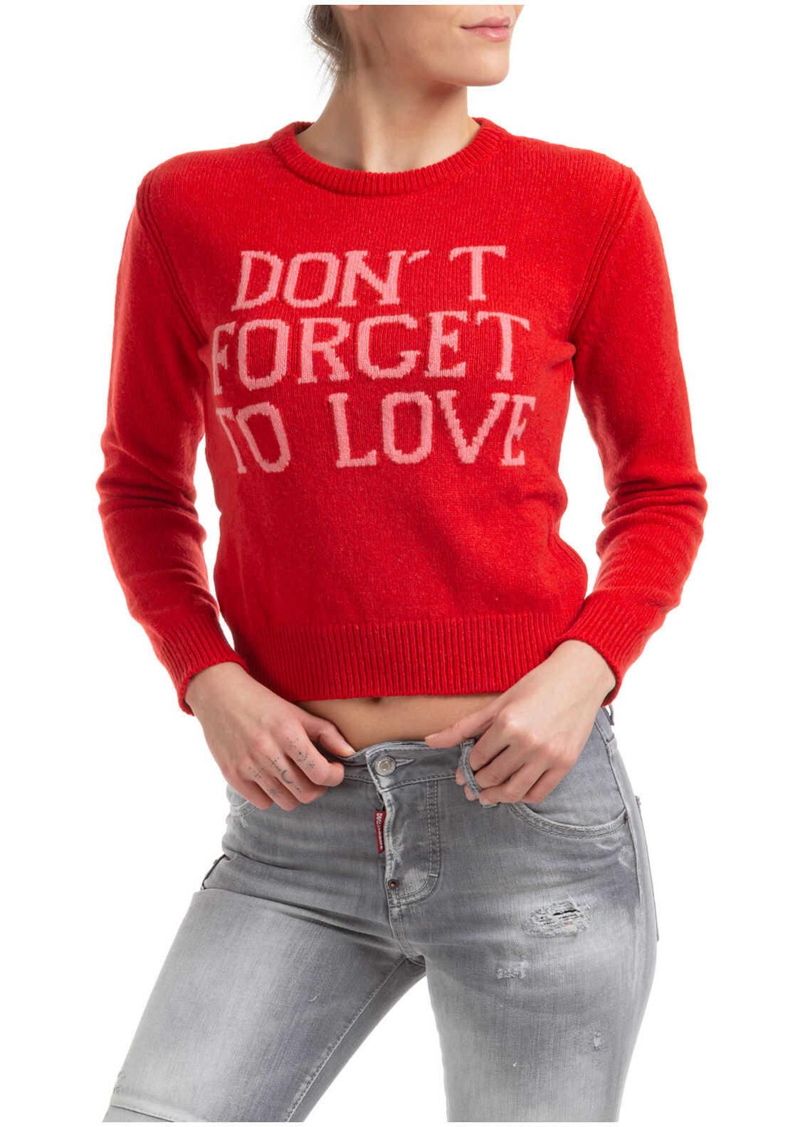 Alberta Ferretti To Love Red