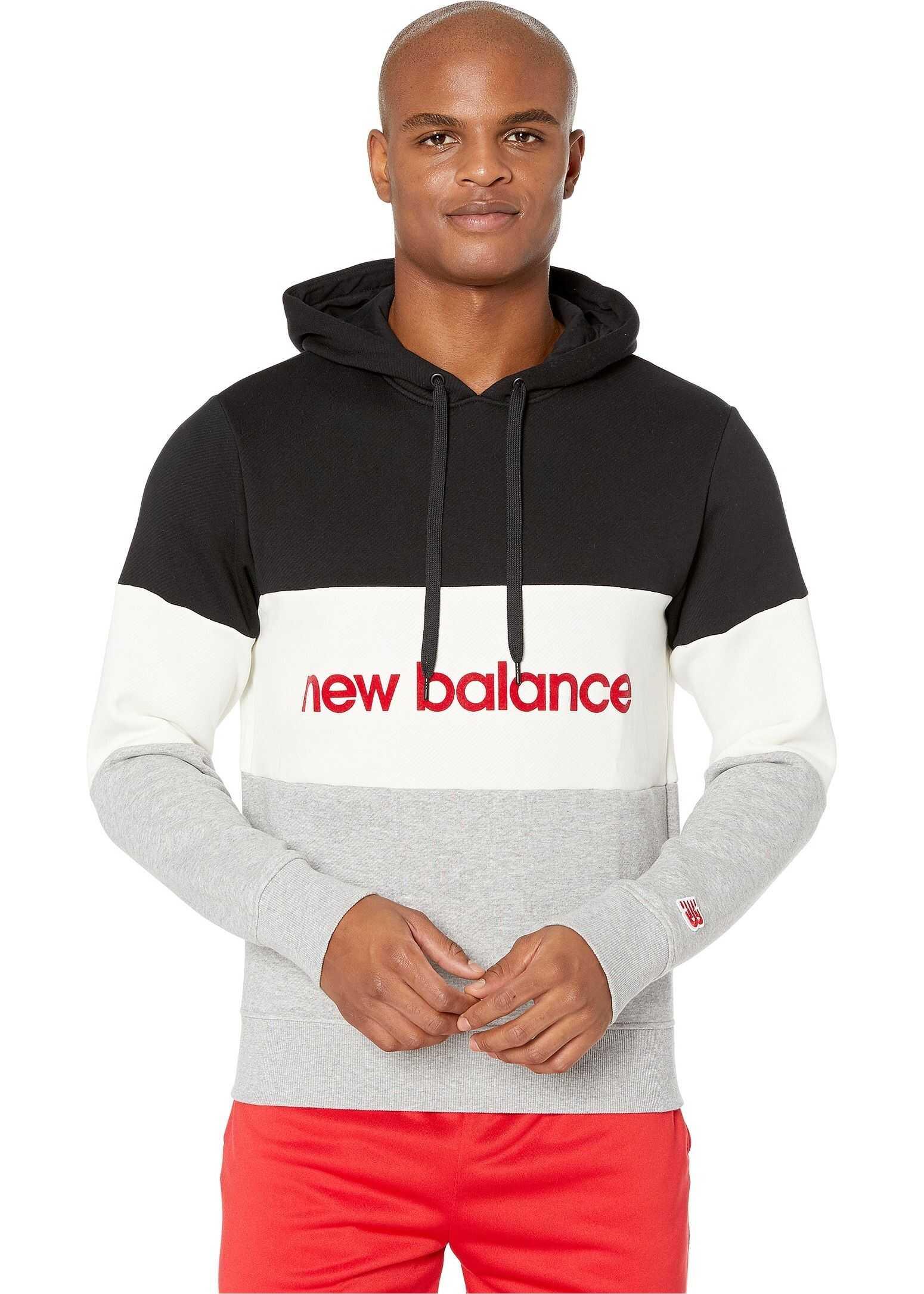 New Balance Athletics Stadium Hoodie Black/White