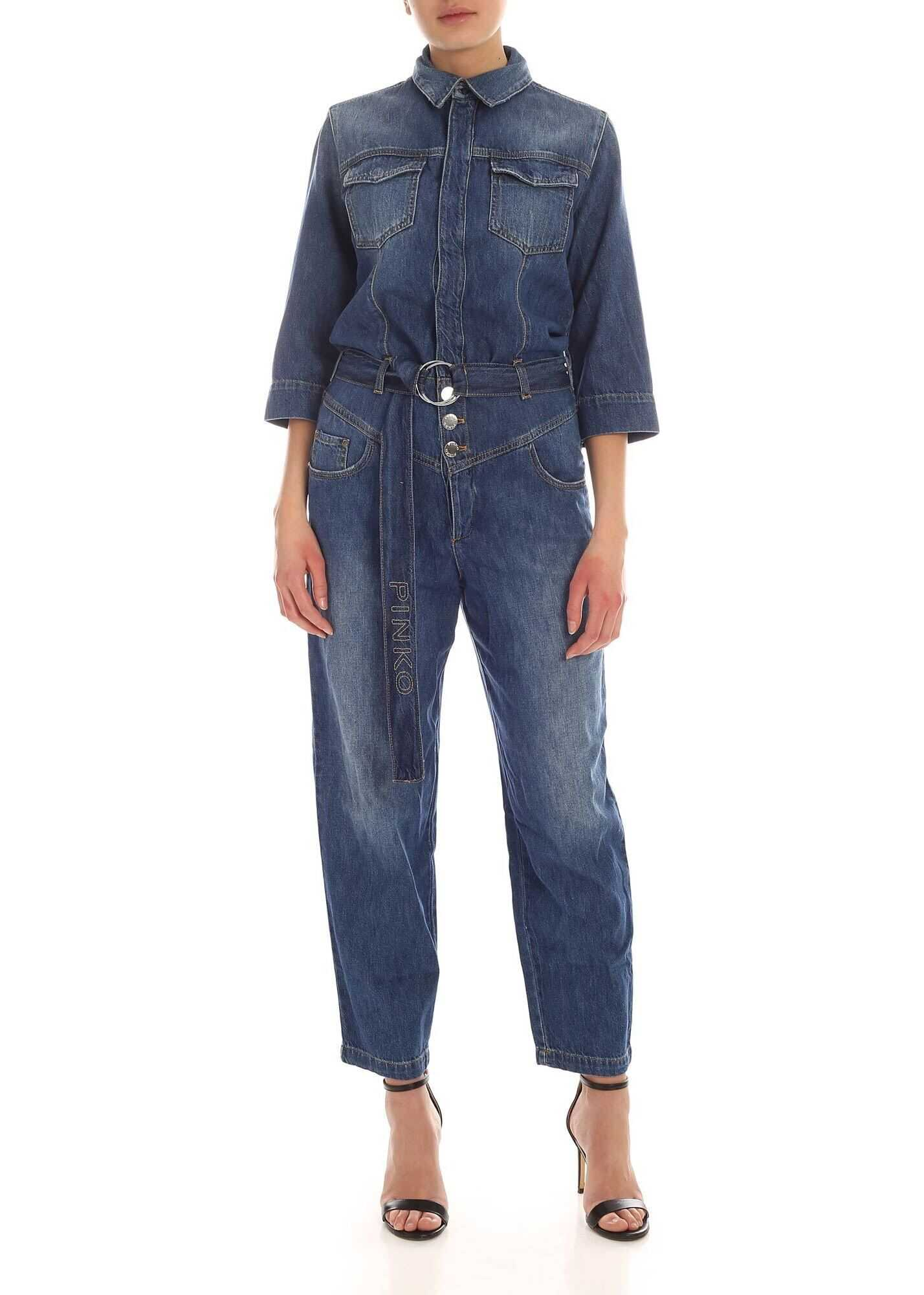 Zena 1 Jumpsuit In Blue thumbnail