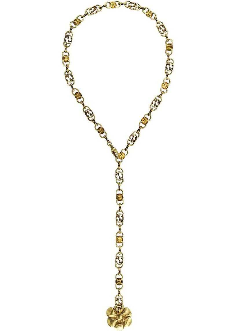 Gucci Metal Necklace GOLD