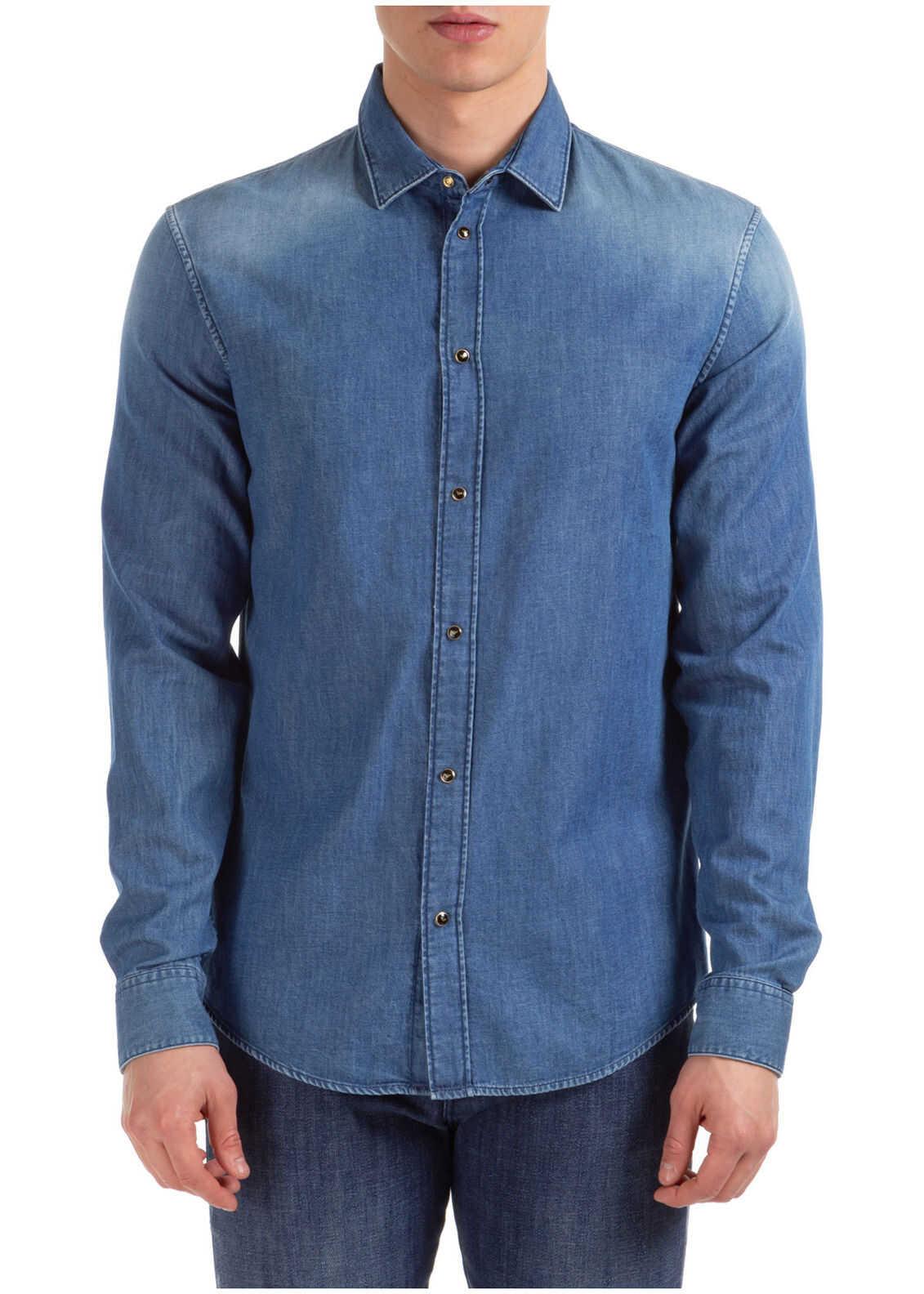 Emporio Armani Dress Shirt Blue