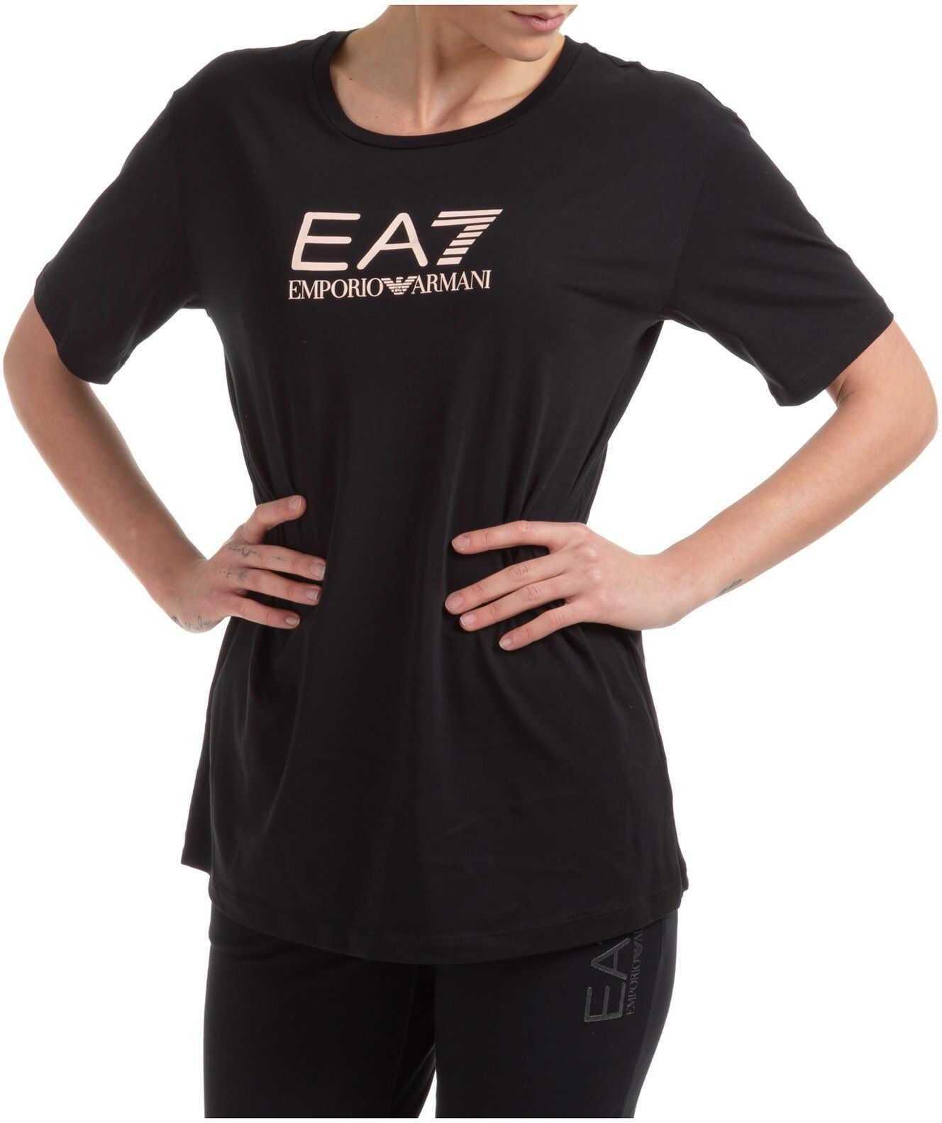 EA7 Neck Round Black