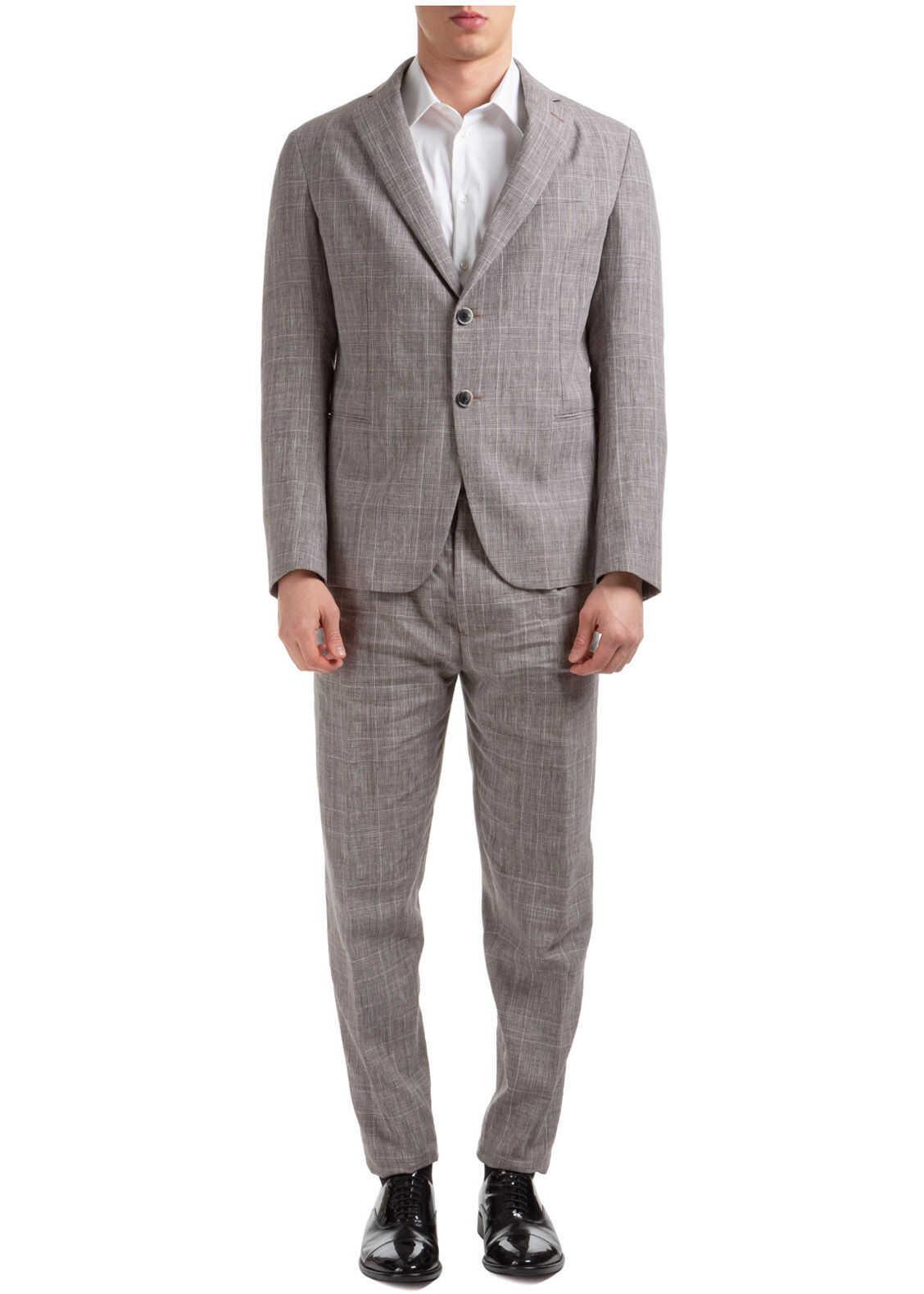 Emporio Armani Suit Beige imagine