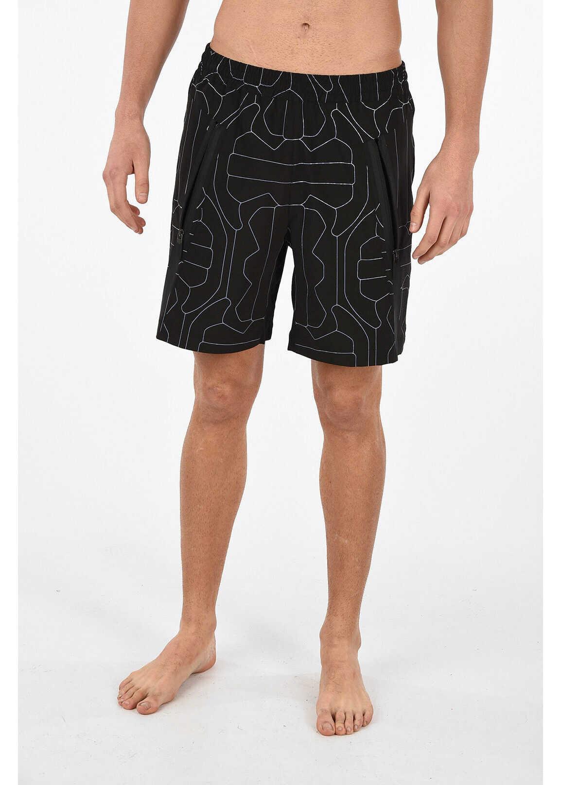 BLACK BARRETT DRY FIT BI-STRETCH FOOTBALL Beachwear thumbnail