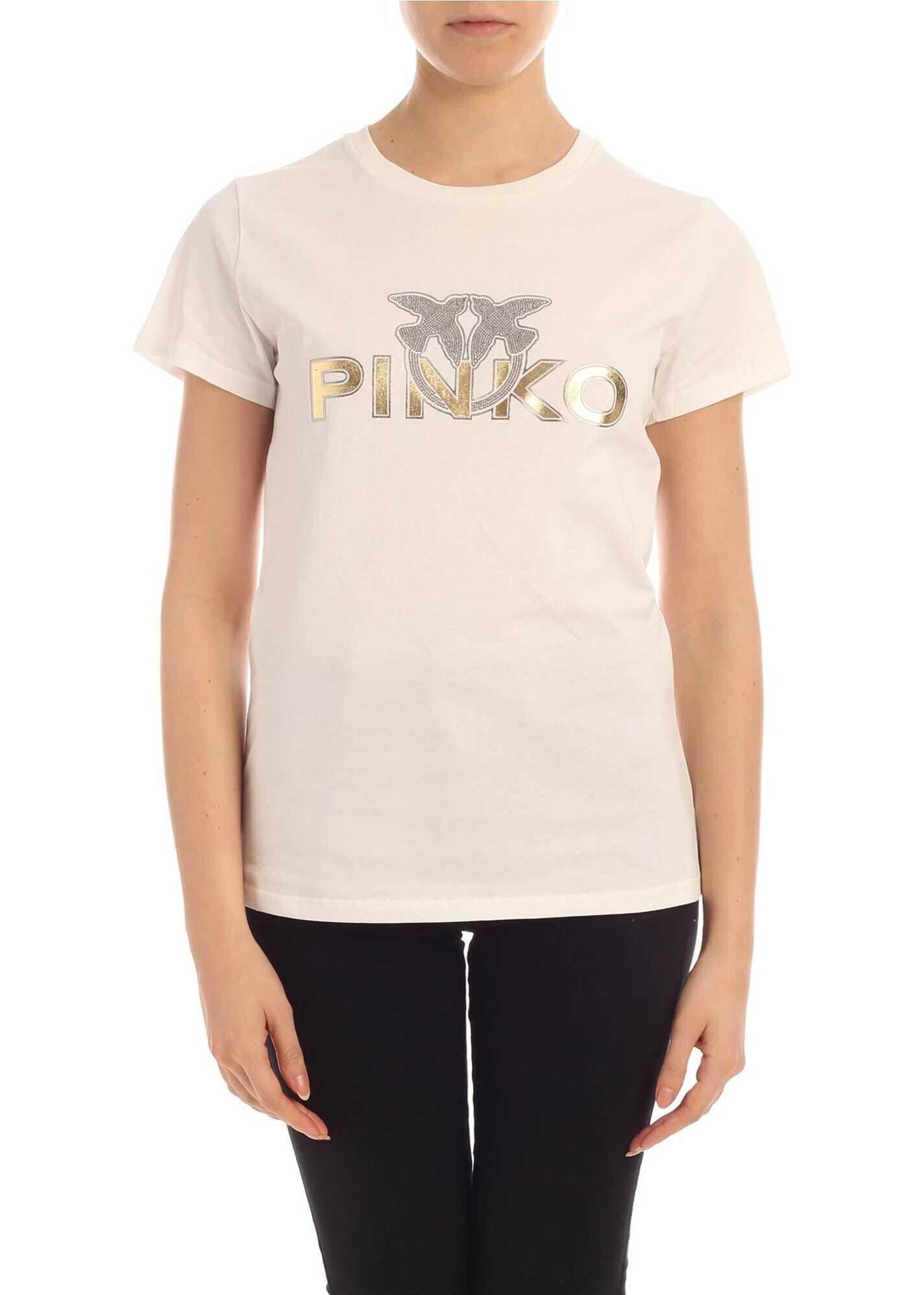 Pinko Noelle T-Shirt In White White