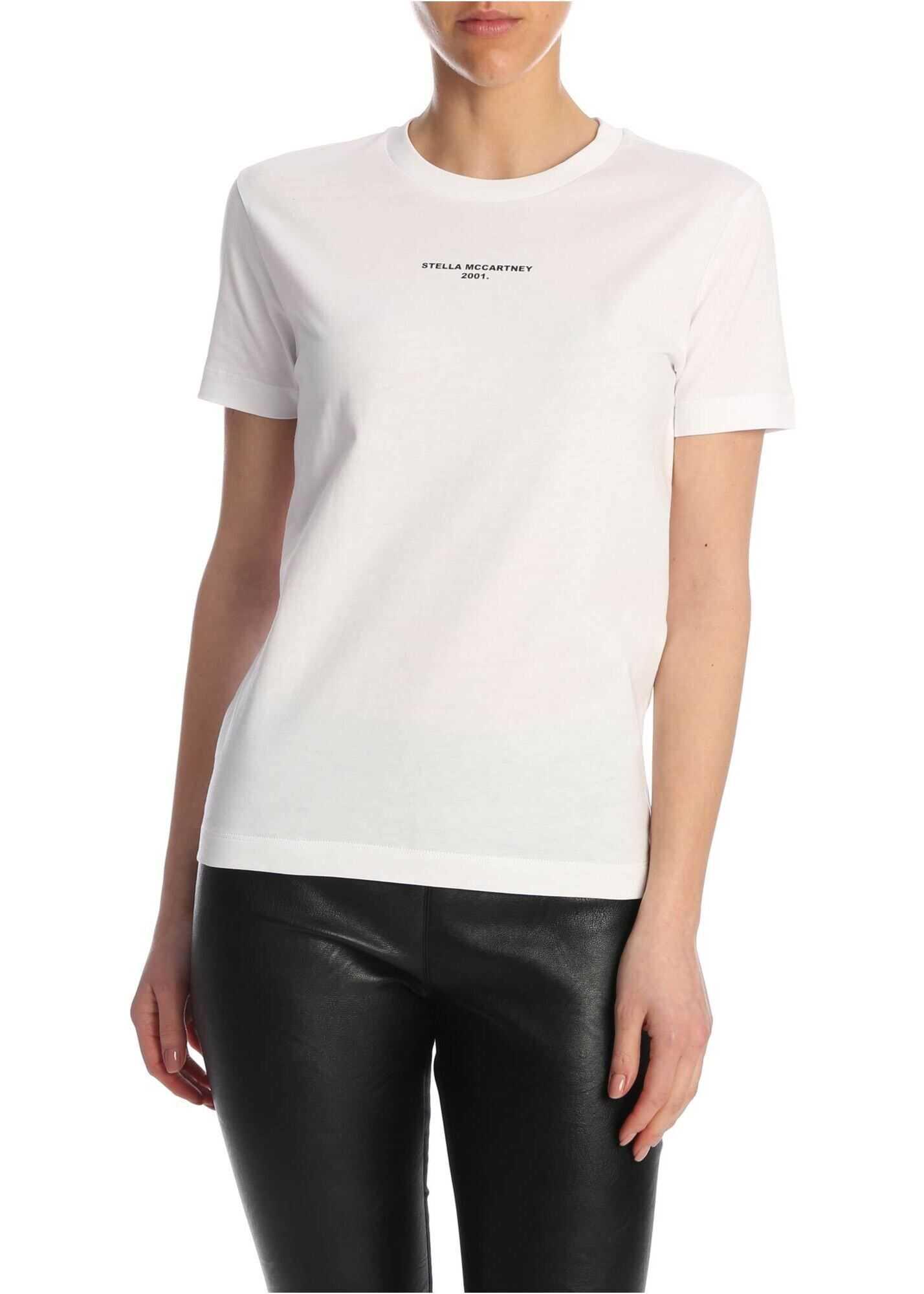 adidas by Stella McCartney Stella Mccartney 2001 Printed T-Shirt In White White