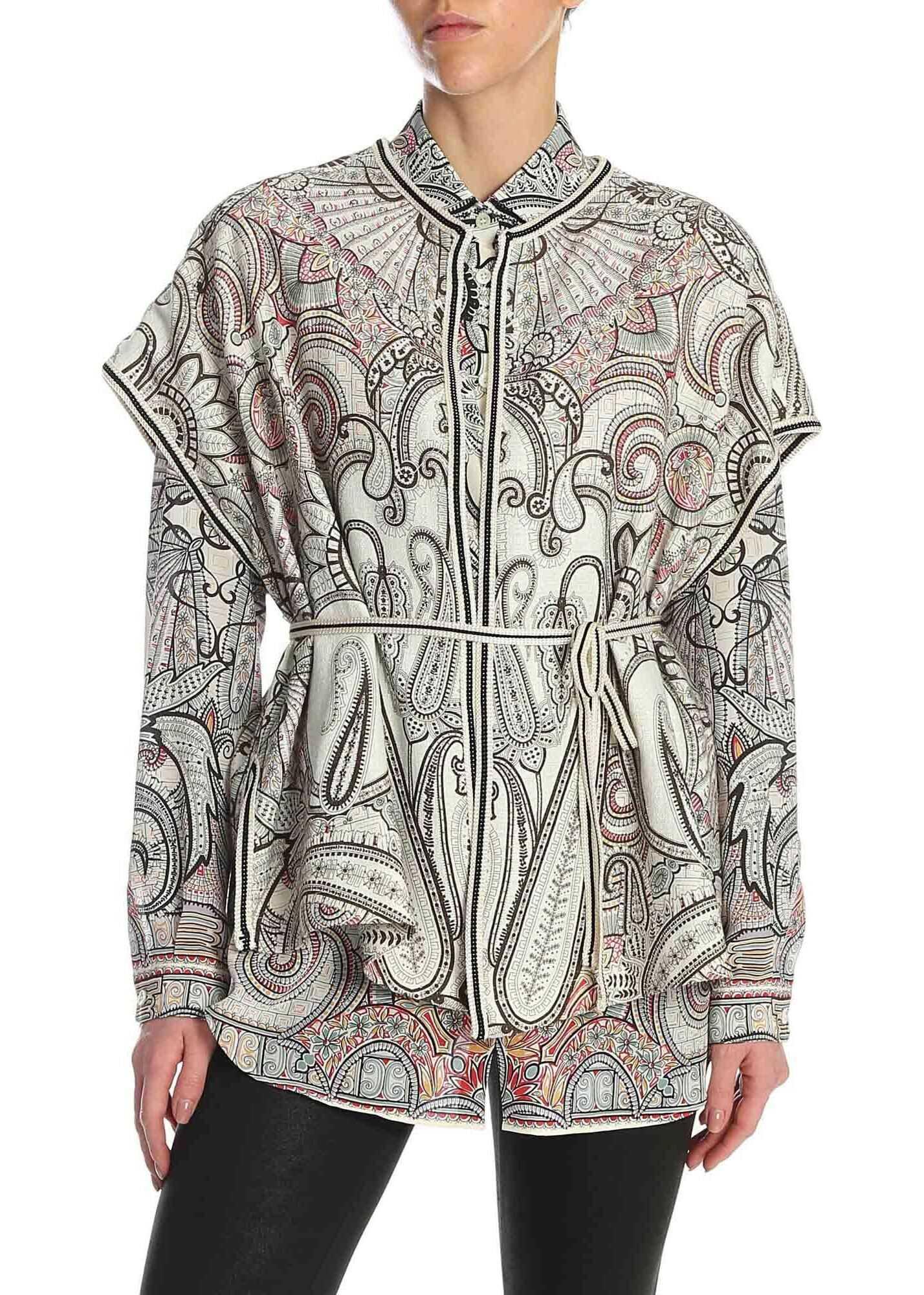 ETRO Paisley Printed Kimono Vest thumbnail