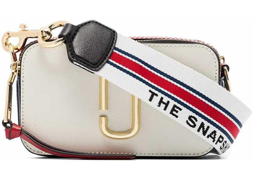 Marc Jacobs Leather Shoulder Bag WHITE