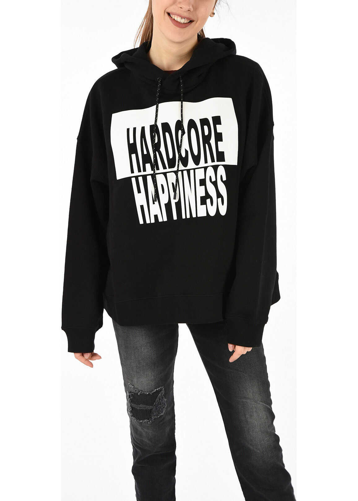 Maison Margiela MM1 Printed Sweatshirt BLACK