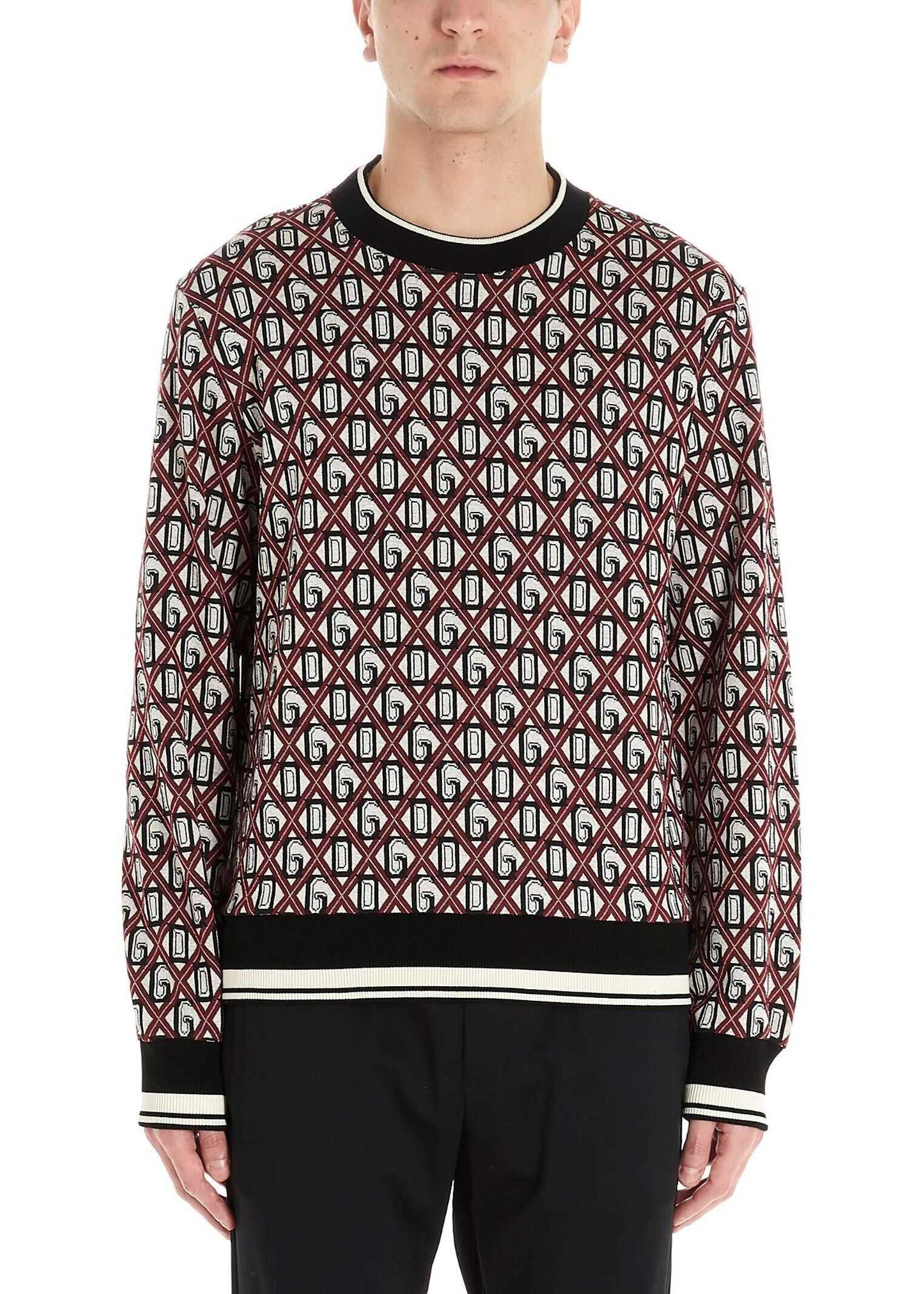 Dolce & Gabbana Cotton Sweater MULTICOLOR