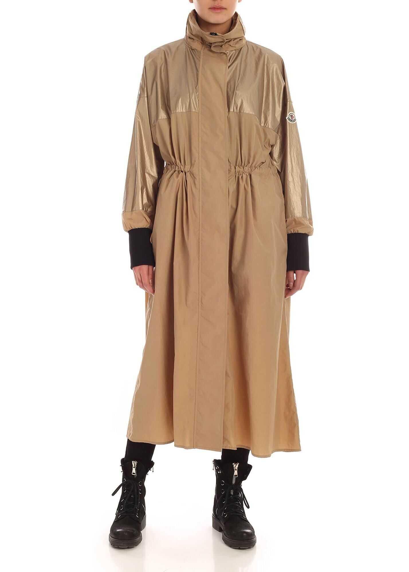 Bronze Overcoat In Dark Beige thumbnail