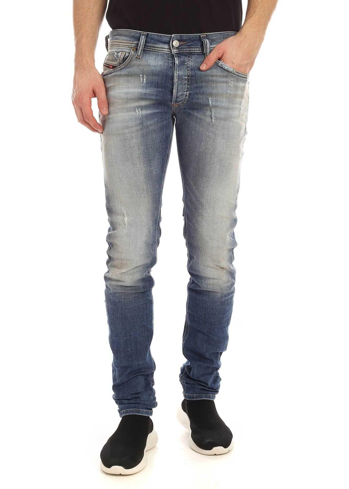 Sleenker-X Jeans In Faded Blue thumbnail