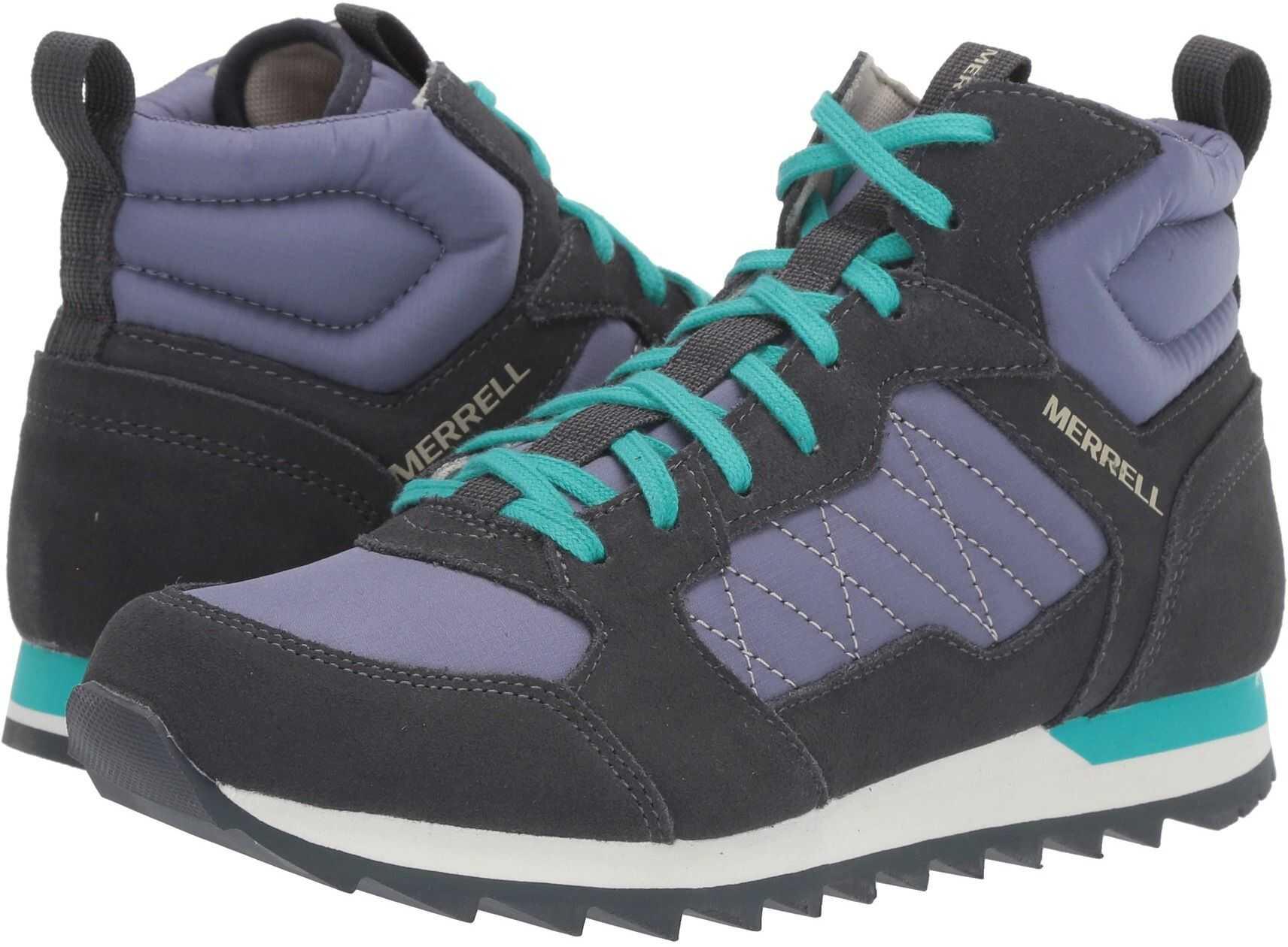 Merrell Alpine Sneaker Mid Velvet/Ebony