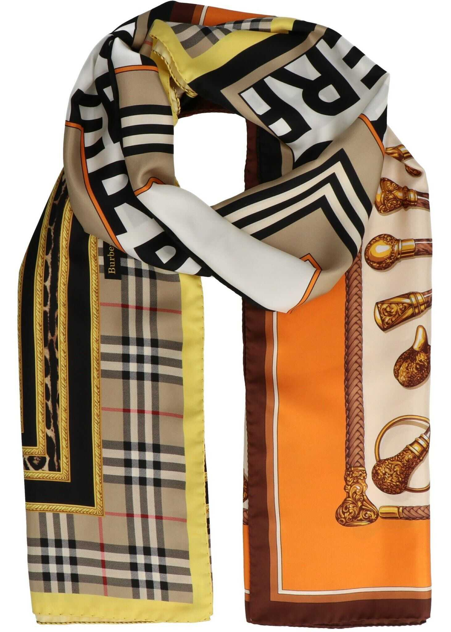 Burberry Silk Foulard MULTICOLOR