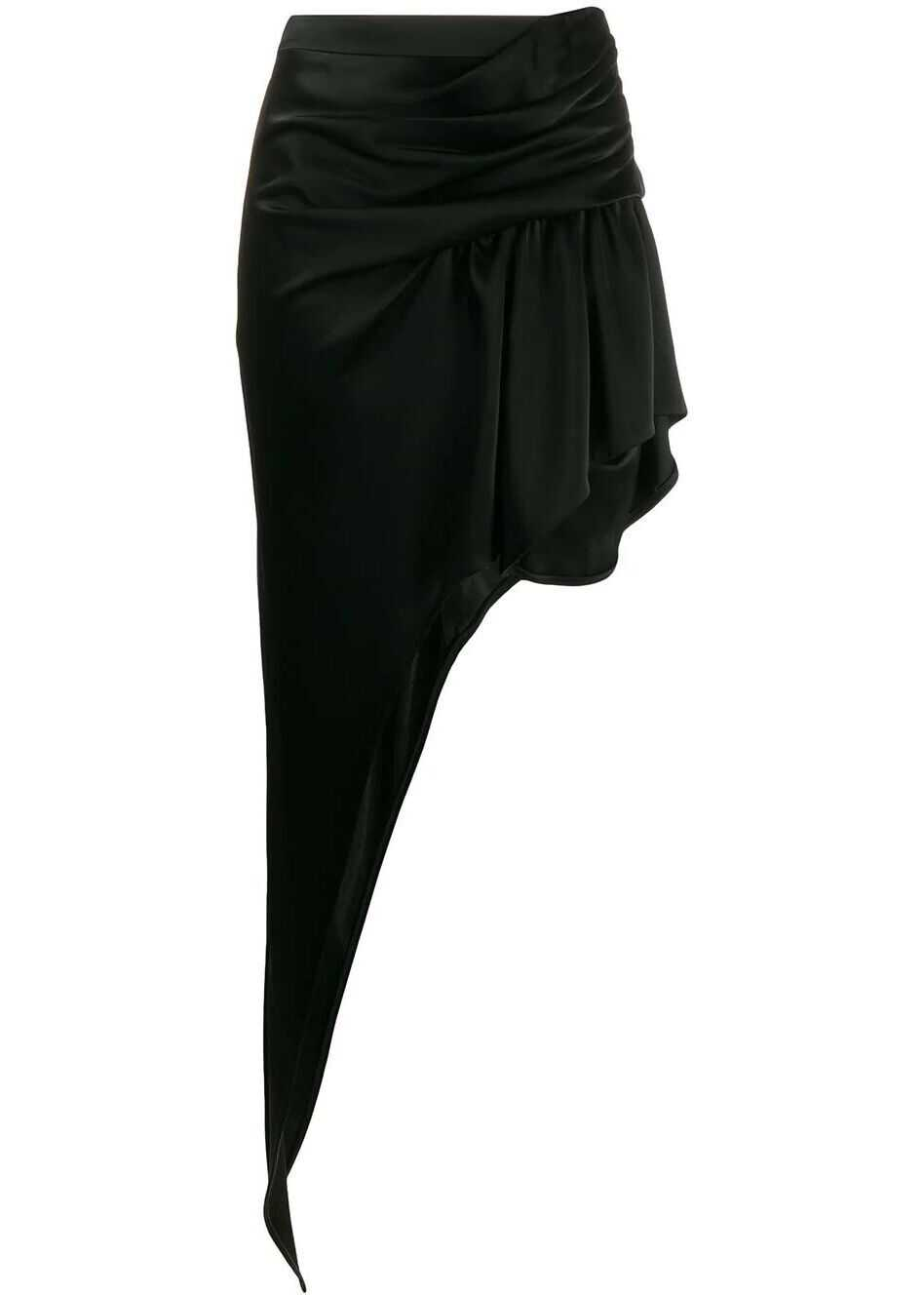 Alexander Wang Acetate Skirt BLACK