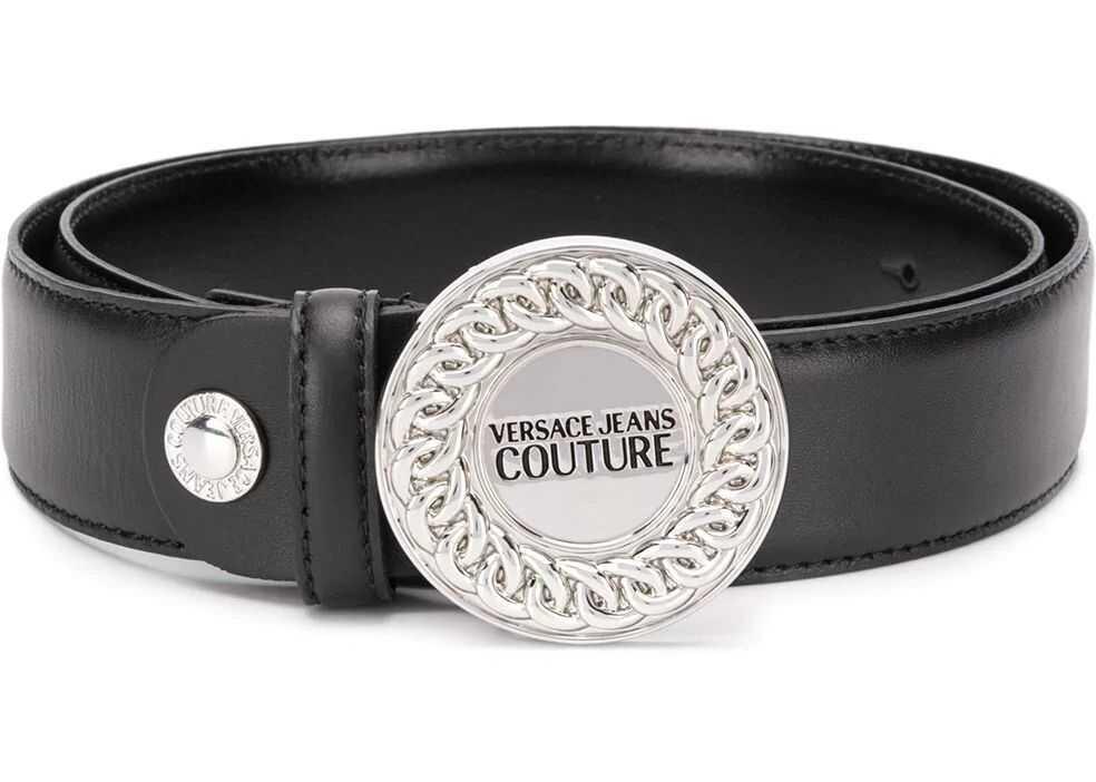 Versace Jeans Leather Belt BLACK