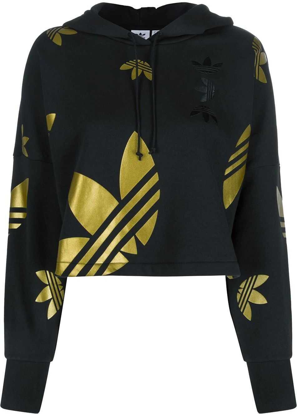 adidas Cotton Sweatshirt BLACK